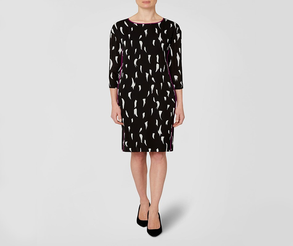Jaeger Ermine Print dress