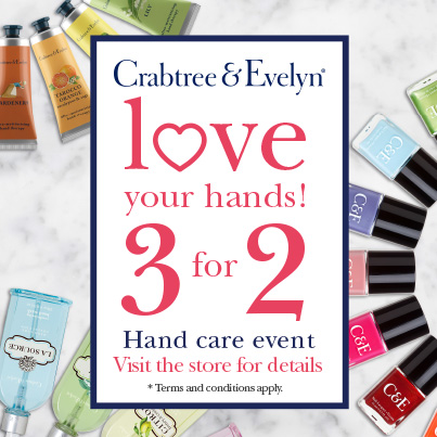 Crabtree & Evelyn Hand Care Campaign 1