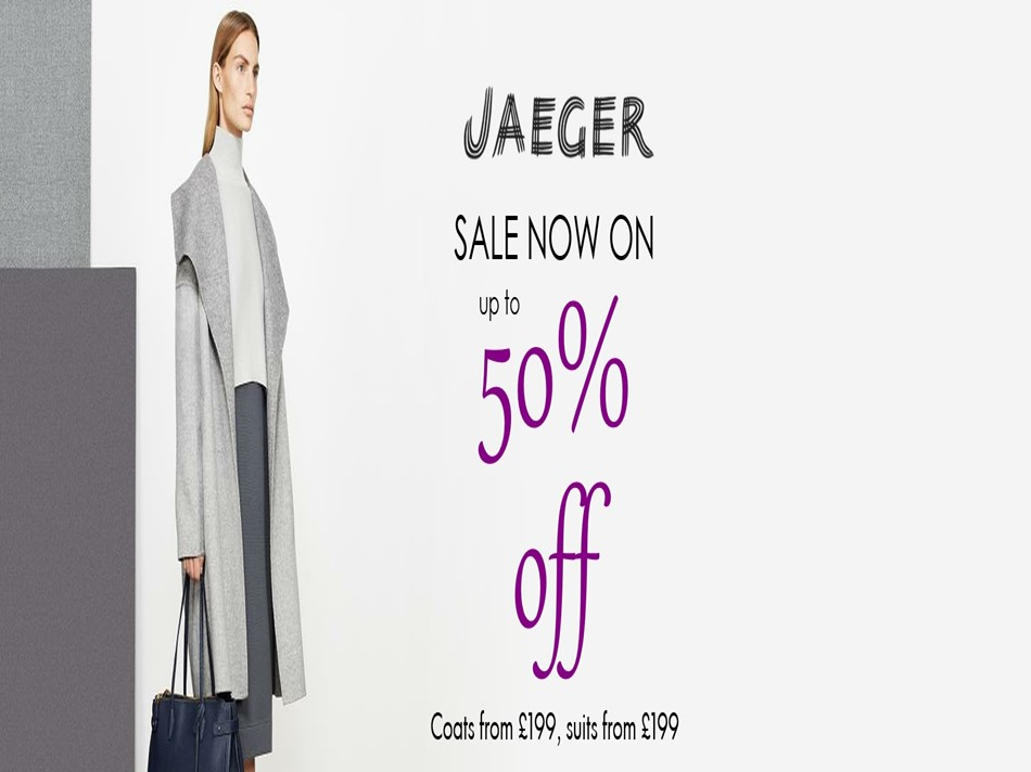 JAEGER SALE NOW ON