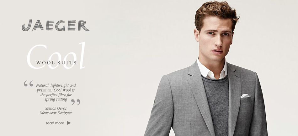Jaeger Cool Wool Suits