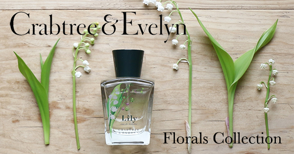 Crabtree & Evelyn floral collection