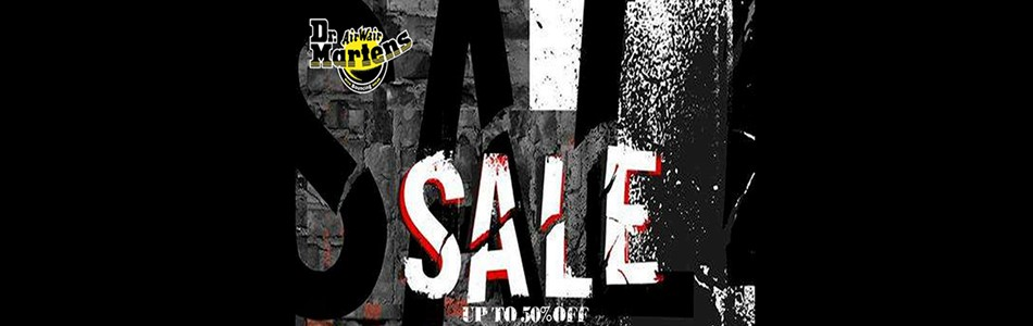 Dr Martens up to 50% Off