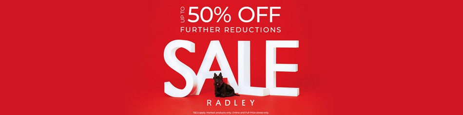 Radley 50 further reductions offer